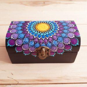 Кутия за бижута - мандала