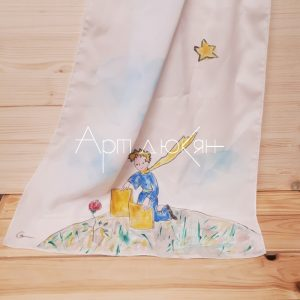 Ръчно рисуван шал